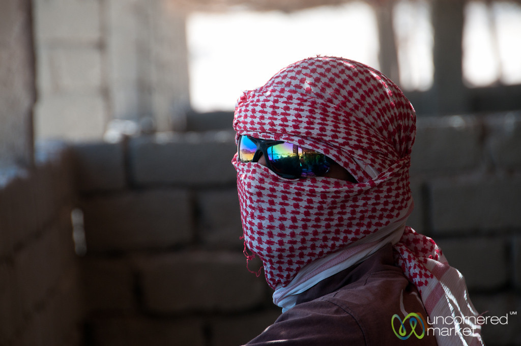 Bedouin Man Wrapped Up - Hurghada, Egypt