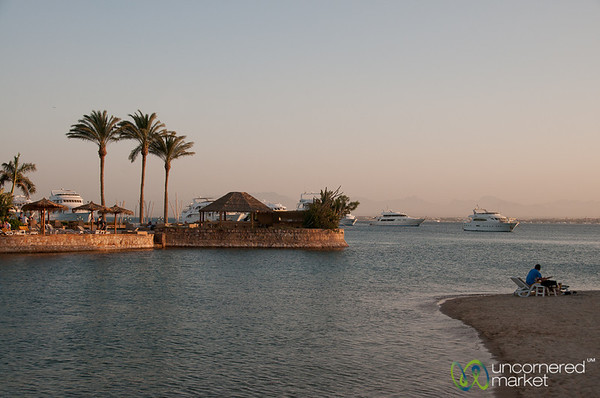 Dusk Along the Red Sea - Hurghada, Egypt