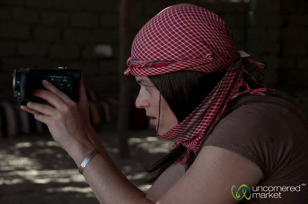 Emme Rogers as Videographer - Hurghada, Egypt