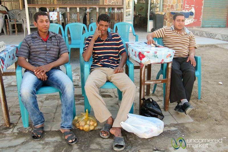 Egyptian Men in El Quseir, Egypt