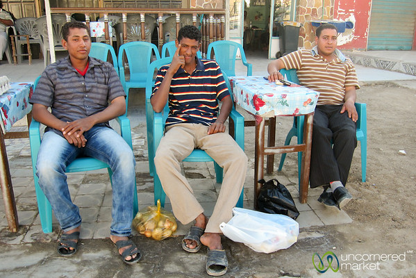 Egyptian Men in El Quseir, Egypt