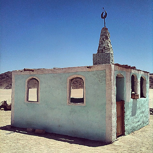 Blue mosque in a Bedouin land #WeVisitEgypt @LoveEgypt
