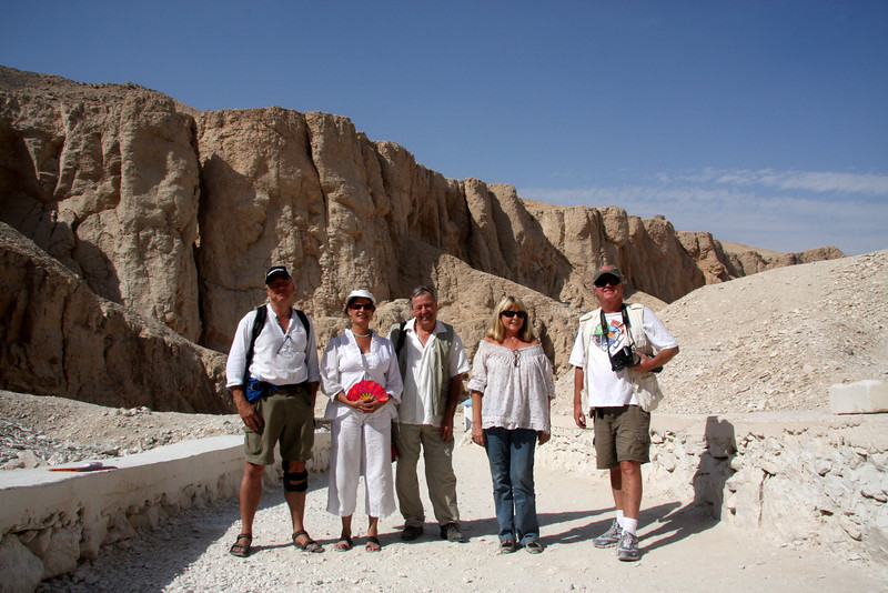 the group! 2007: The Valley of the Kings, in Thebes, on the west bank of the Nile by Luxor, is the burial place of the pharaohs of the New Kingdom, 18th, 19th, and 20th Dynasties. To date, more than 62 tombs have been identified.