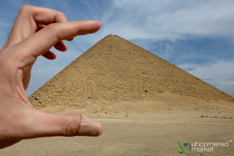 Squish the Red Pyramid - Dahshur, Egypt
