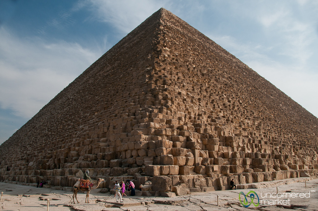 Khufu Pyramid at Giza - Egypt