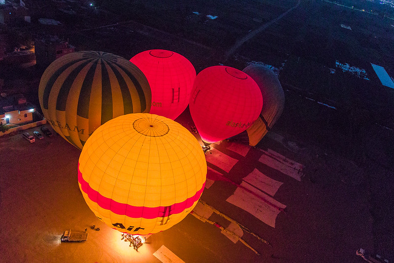 Balloons at Launch