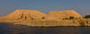 Abu Simbel Complex from Lake Nasser