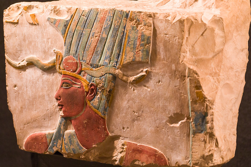 Hatshepsut, female kind of Egypt