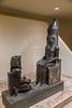God Atum with Pharaoh Horemheb