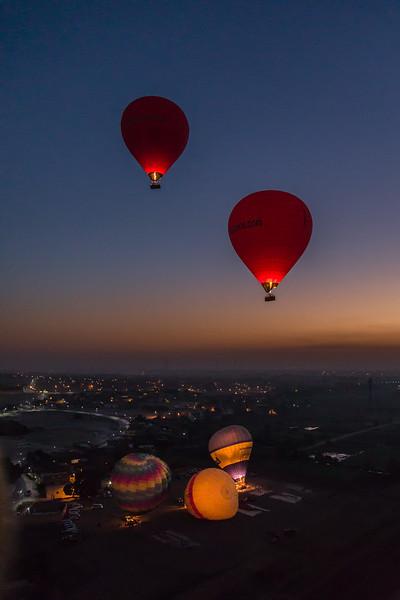 Balloons over Luxor