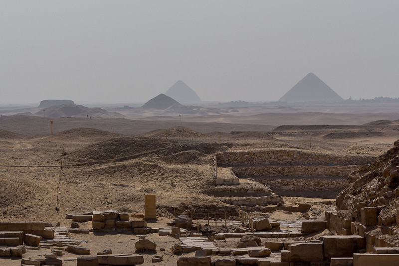 Mastaba and First Pyramids