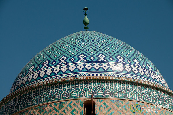 Mosque Dome - Yazd, Iran