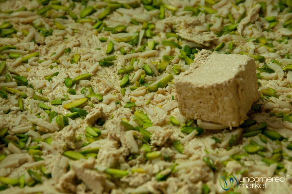 Pistachio Halva - Tabriz Market, Iran
