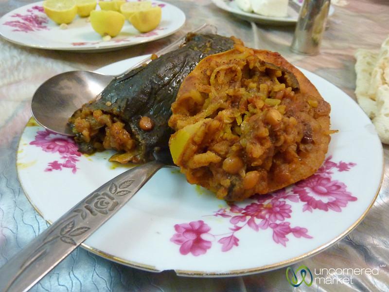 Dolmades (Stuffed Vegetables) - Tabriz, Iran