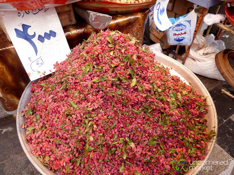 Fresh Barberries - Tehran, Iran