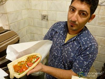 Falafel Sandwich - Tehran, Iran