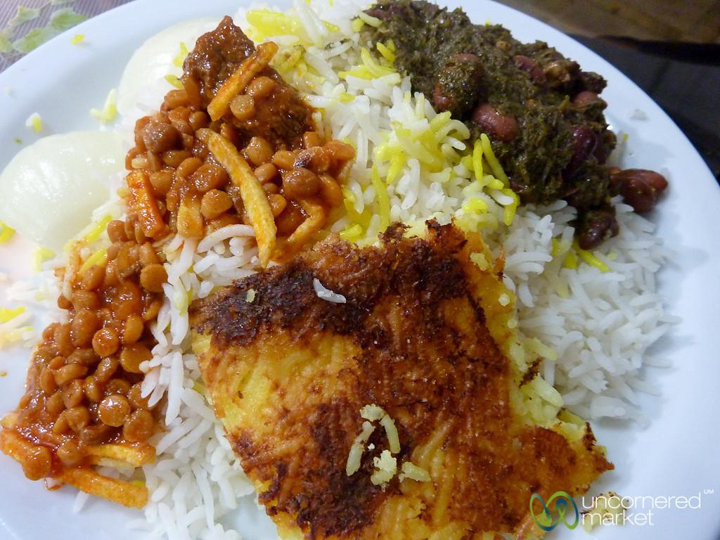 Iranian Stews - Tehran, Iran
