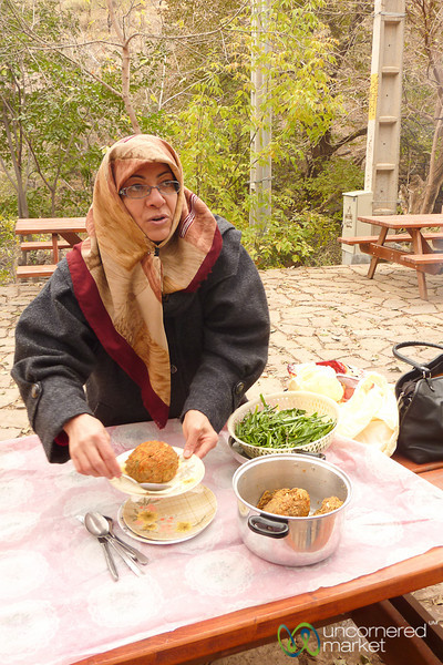Tabriz Kofte Picnic - Jolfa, Iran