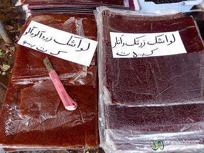 Fruit Leather - Kandovan, Iran