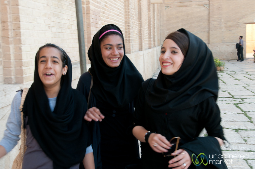 Iranian Teenagers - Shiraz, Iran