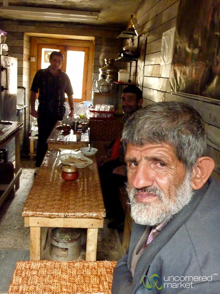 Iranian Teahouse in Masuleh, Iran