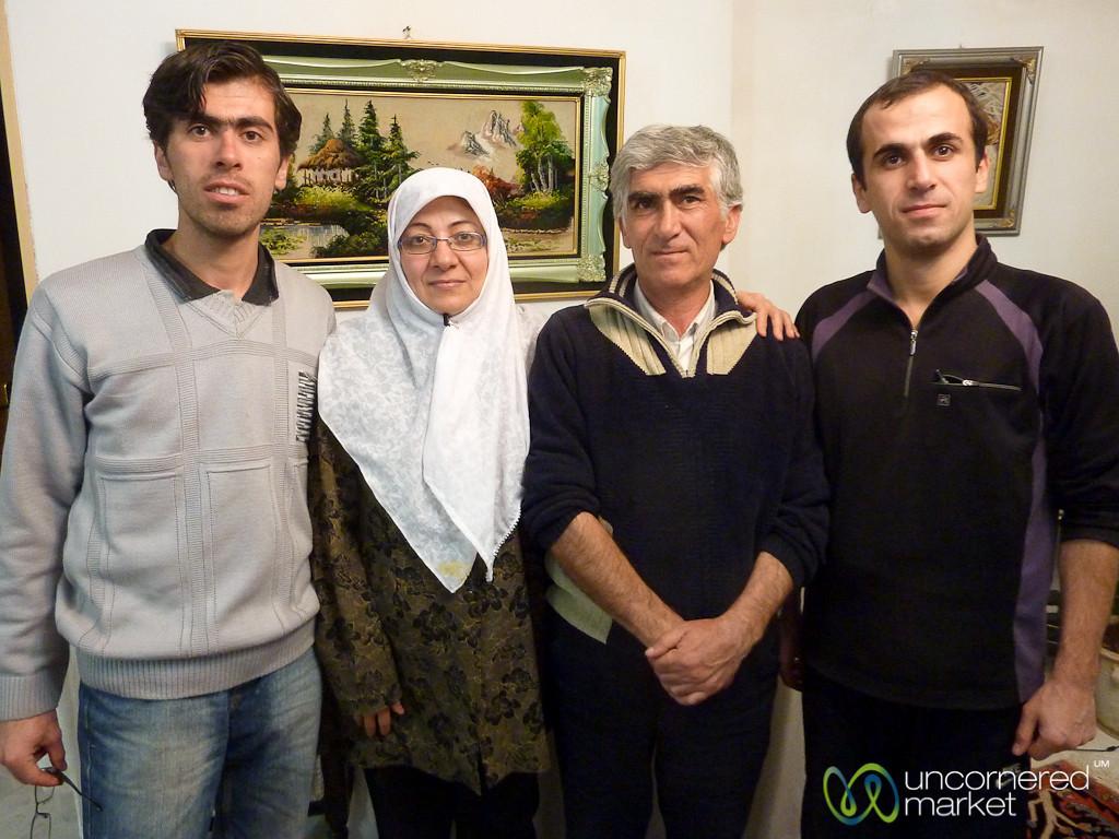 Iranian Family - Tabriz, Iran