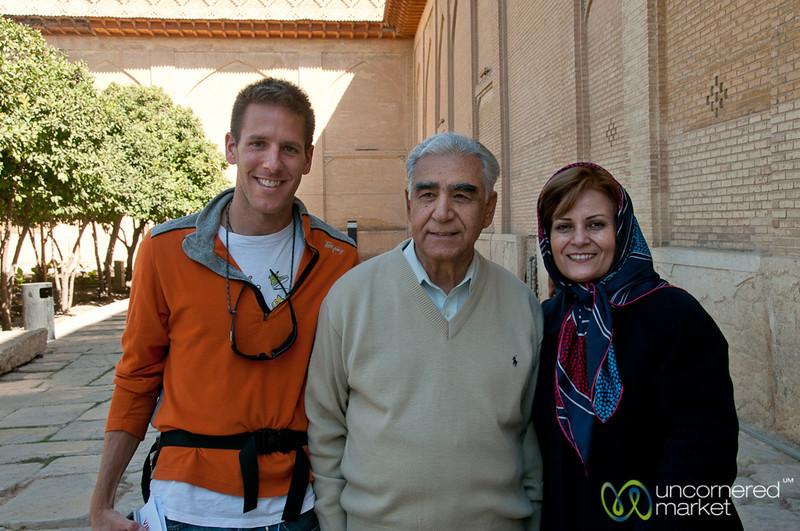 New Iranian Friends in Shiraz