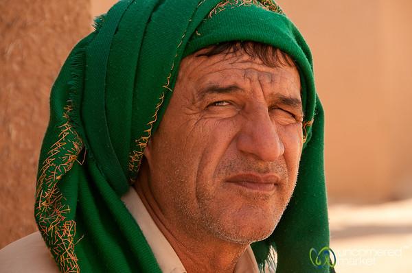 Guard at Chogha Zanbil Ziggurat - Iran