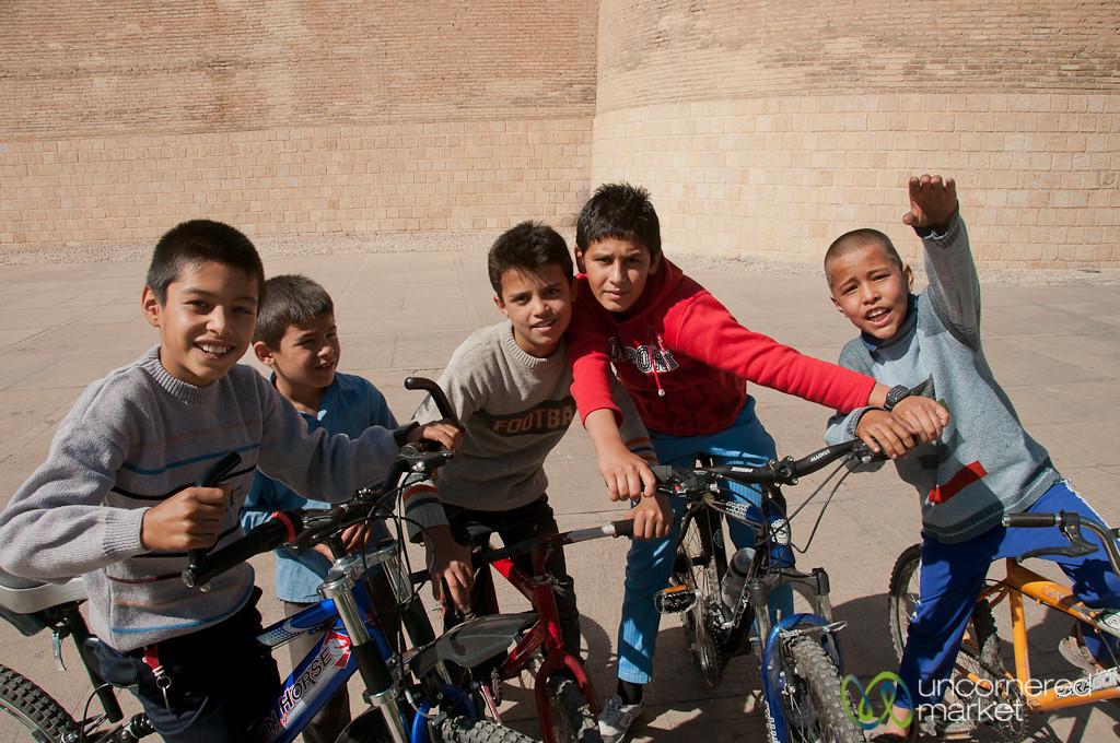 Iranian Boys - Shiraz, Iran