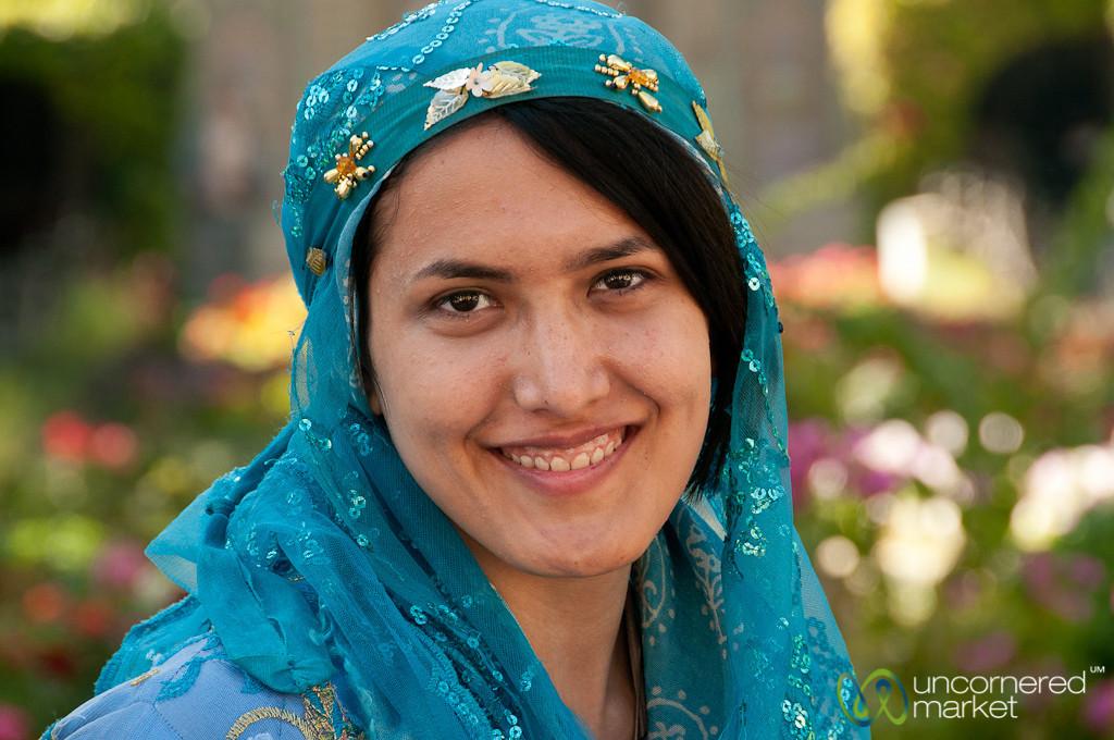 Young Iranian Woman in Traditional Dress - Shiraz, Iran