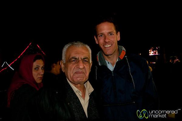 New Friend at Rasht Market, Iran