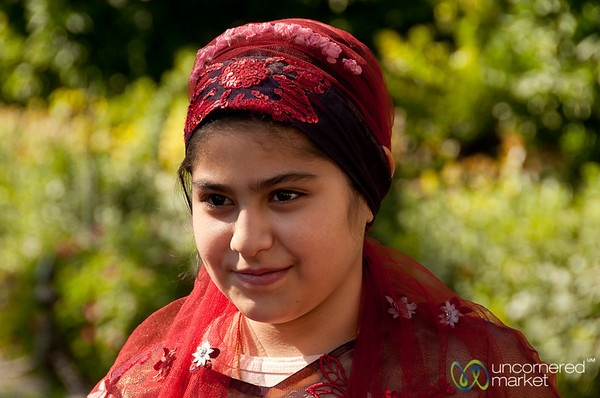 Young Iranian Woman - Shriaz, Iran