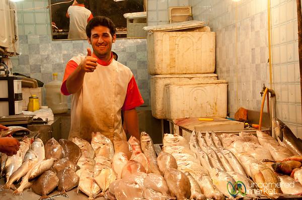 Fish Vendor of Ahwaz, Iran