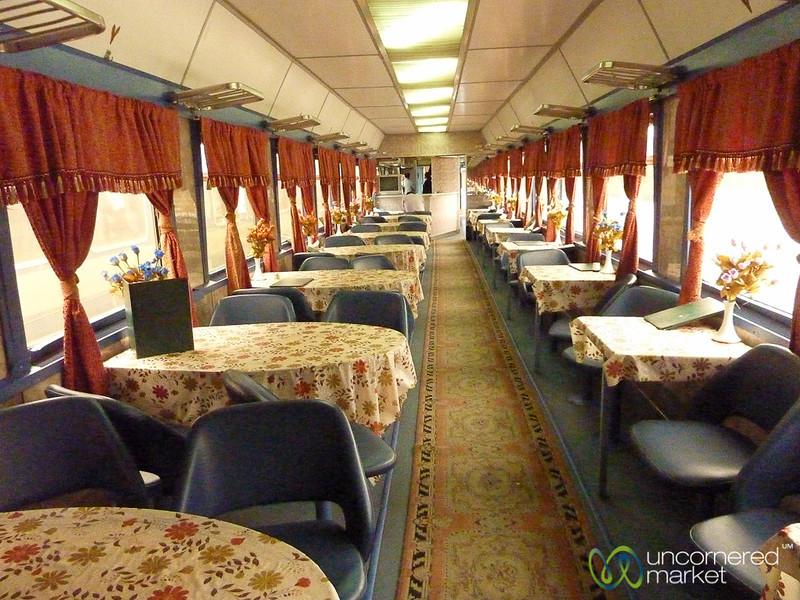 Inside an Iranian Train - Tabriz to Istanbul