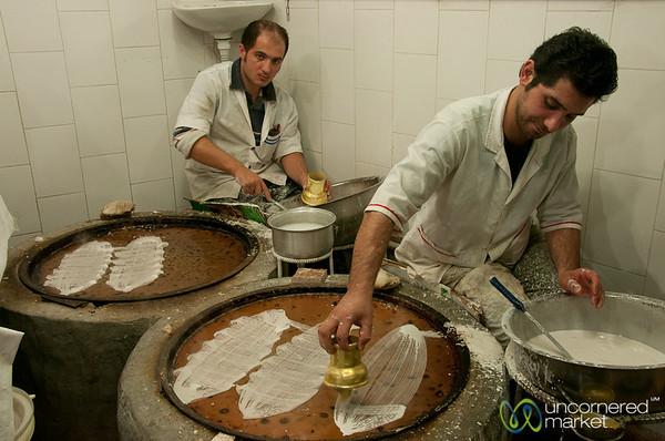 Iranian Desserts at Rasht Market, Iran
