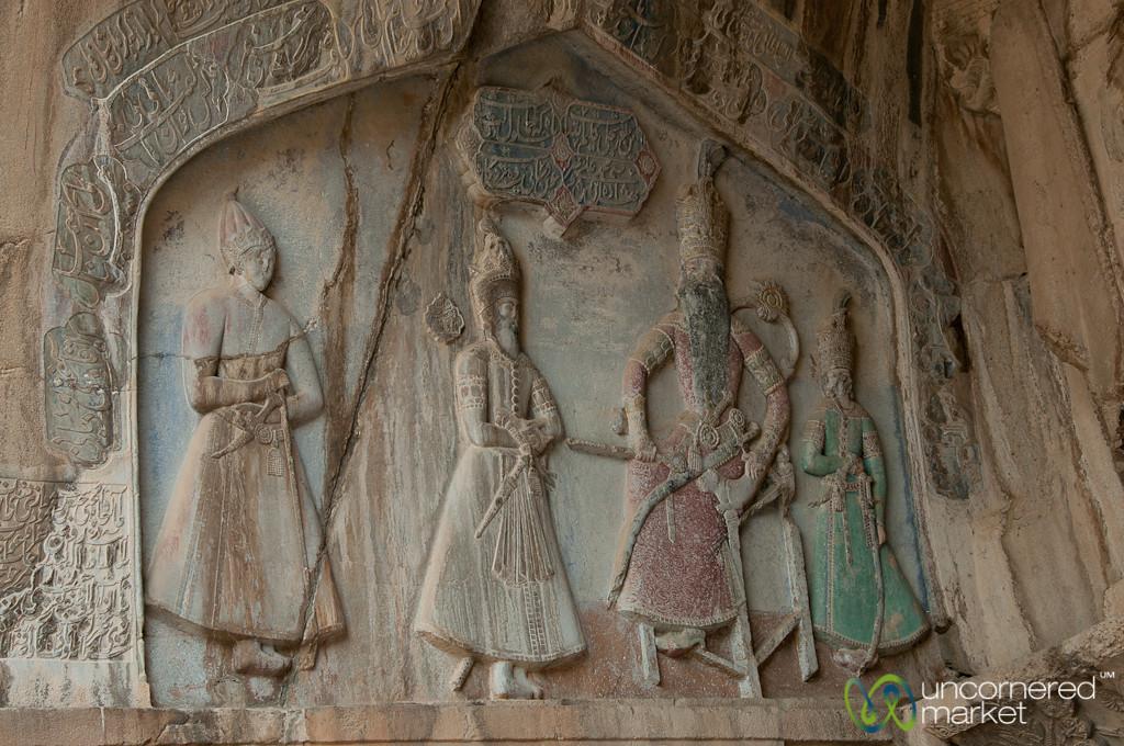 Taq-e Bostan Reliefs - Kermanshah, Iran