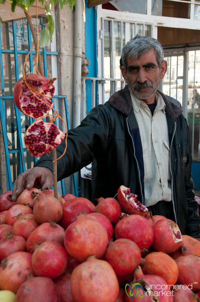 Pomegranate Man - Iran