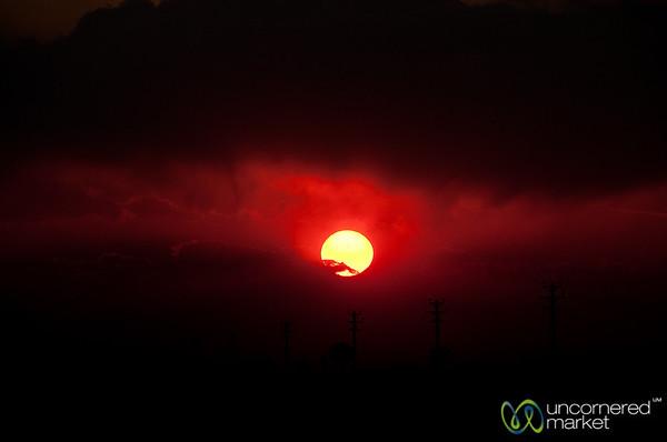 Iranian Sunset