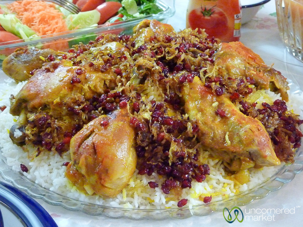 Chicken and Berberries - Tabriz, Iran