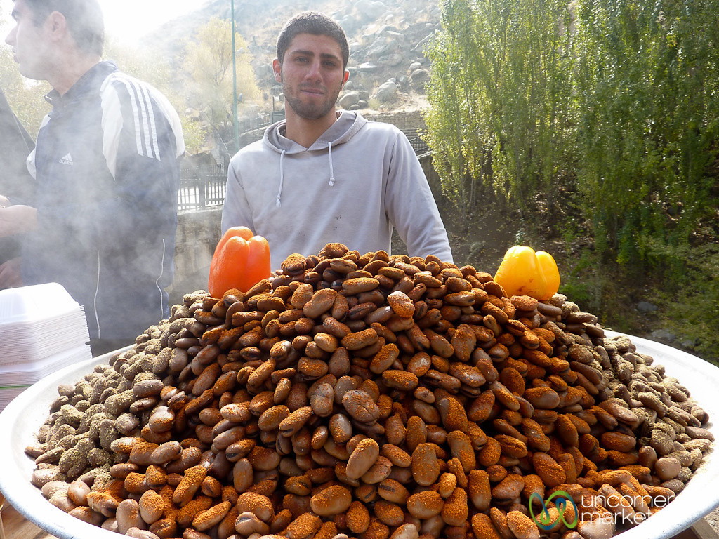 Steamed and Spiced Fava Beans - Kermanshah, Iran