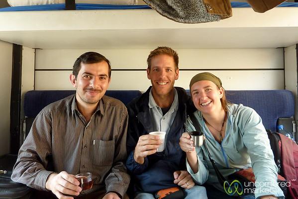 Train Journey from Iran to Turkey
