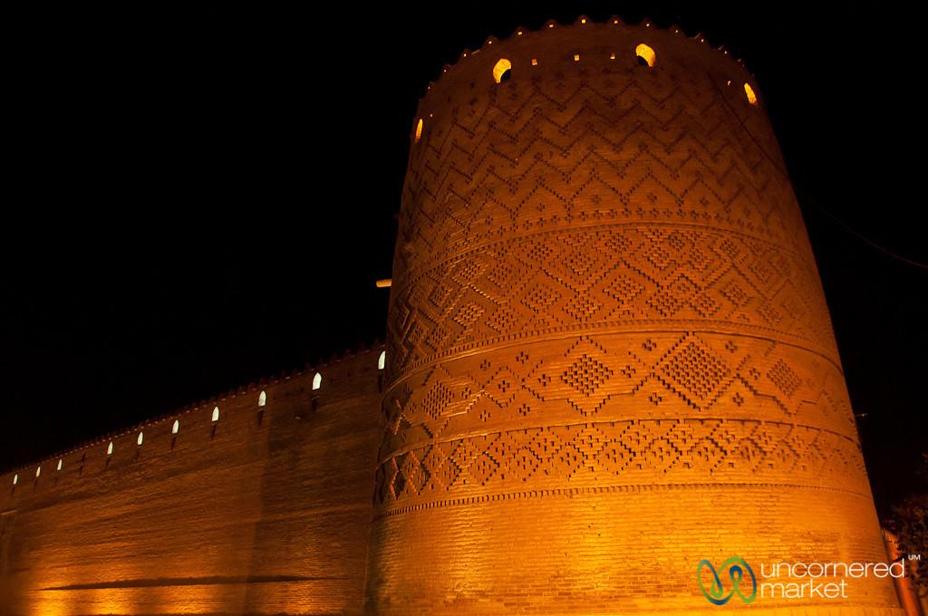 Karim Khan Citadel at Night - Shiraz, Iran