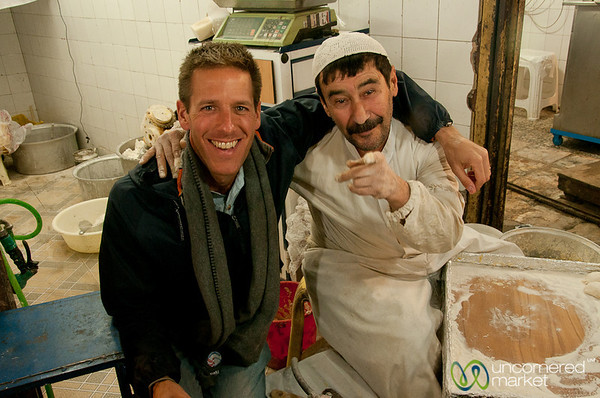 Dan and Iranian Baker - Rasht