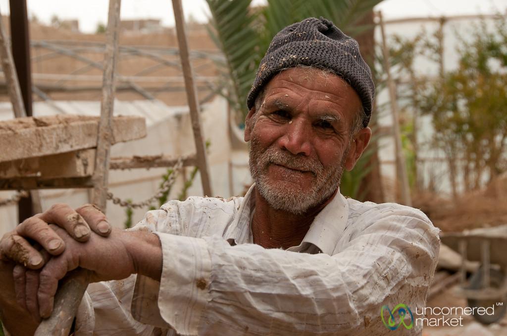 Iranian Construction Worker