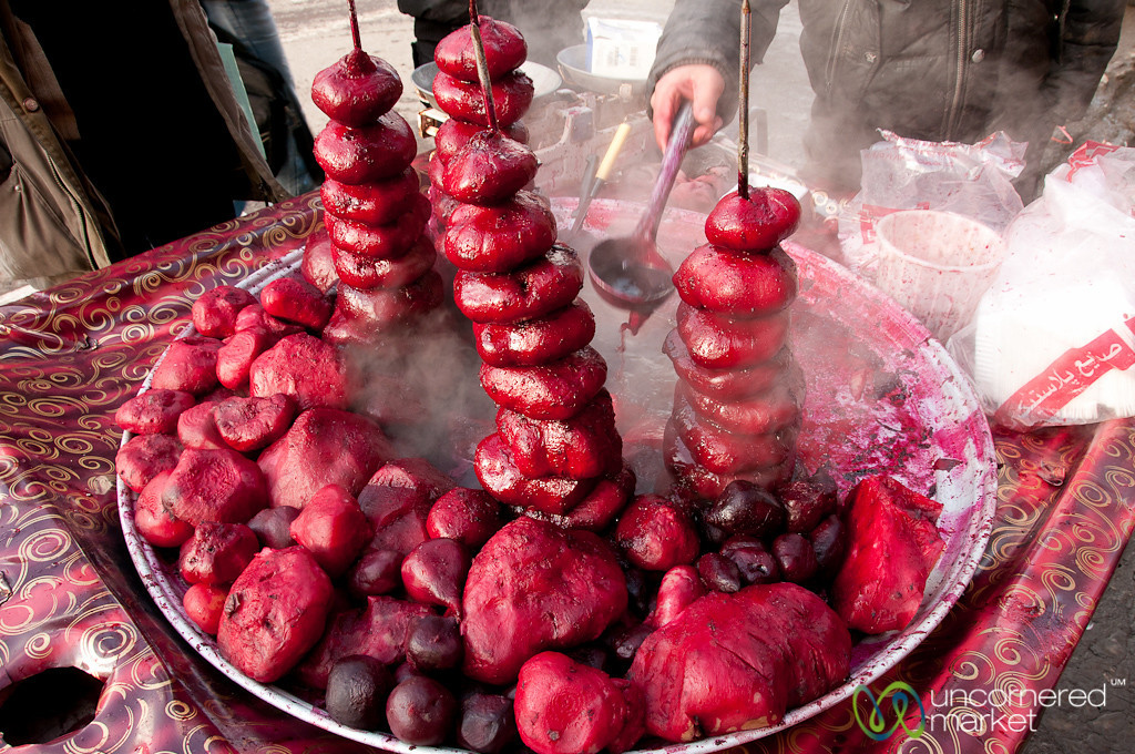 Ardabil Beets in Iran
