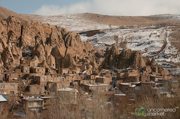 Kandovan Village in Snow - Iran
