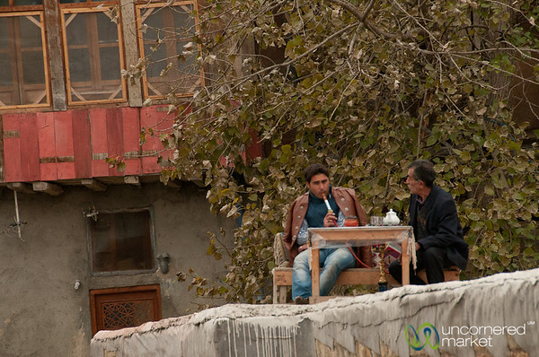 Shisha on Rooftop - Masuleh, Iran