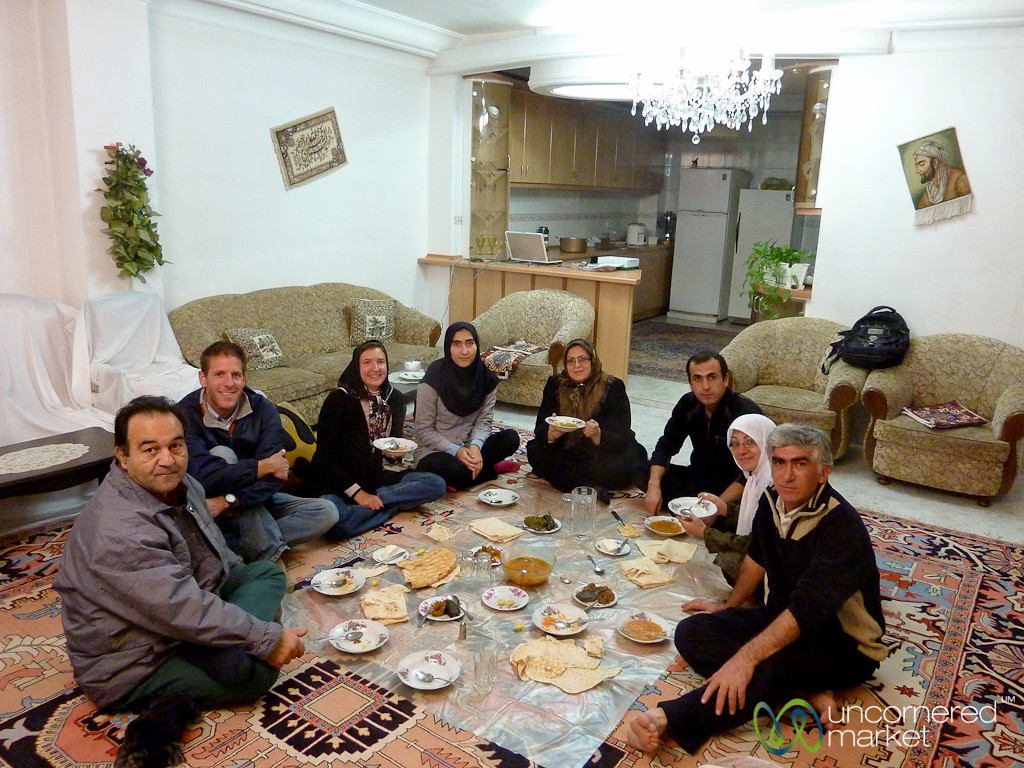 Dinner in an Iranian Home - Tabriz, Iran