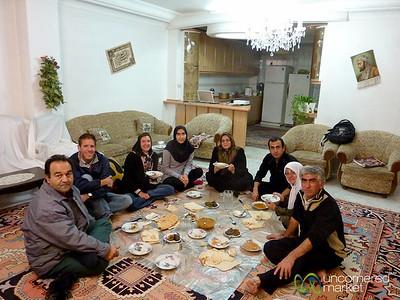 Dinner in an Iranian Home - Tabriz, Iran