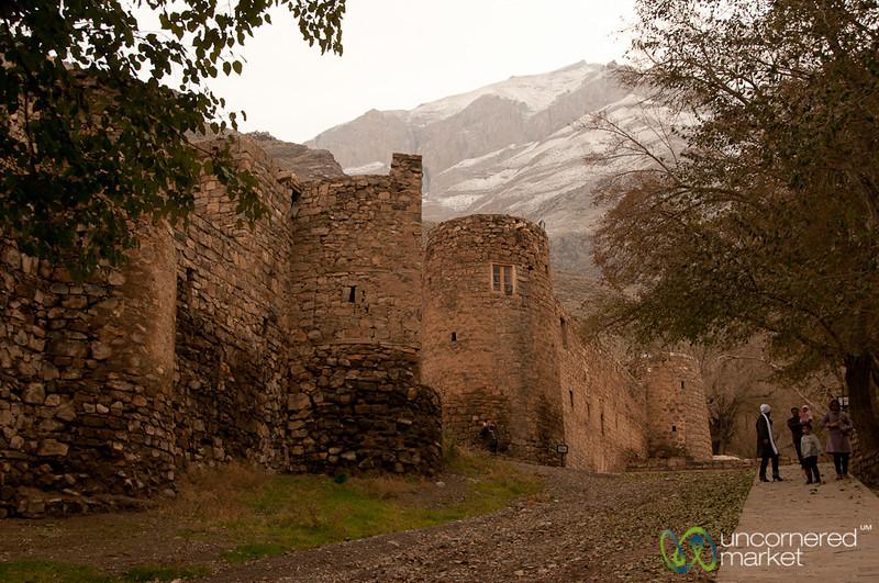 Walls Around St. Stephanos Church - Jolfa, Iran